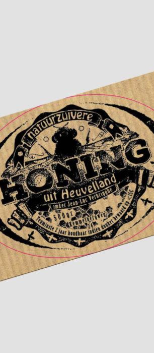 Etiketten voor honingpotjes